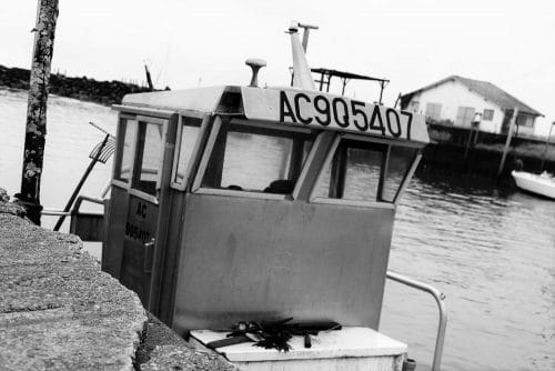 port ostréicole d'Arès sur le bassin d'Arcachon
