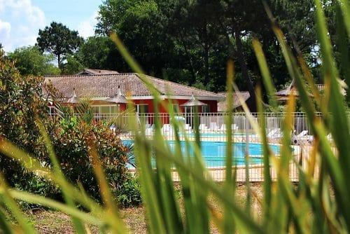 piscine de la résidence Neméa à Arès sur le bassin d'Arcachon