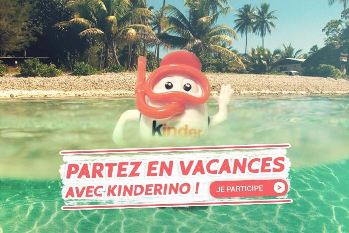 Kinderino en vacances