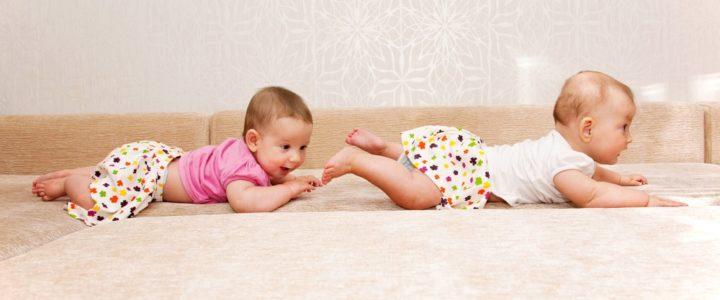 motricité libre avec bébé