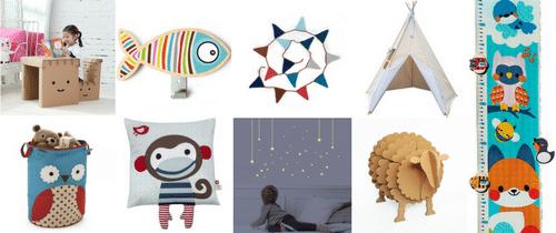 Top 10 objets de d coration pour une chambre d enfant - Objet deco chambre ...