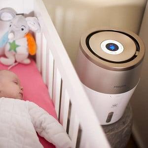 humidificateur d'air pour bébé Philips Avent Silver