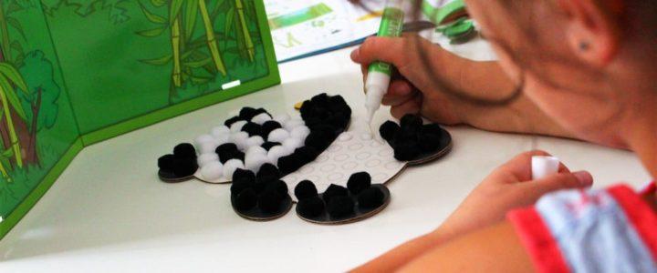 Kit créatif pour enfant Pandacraft
