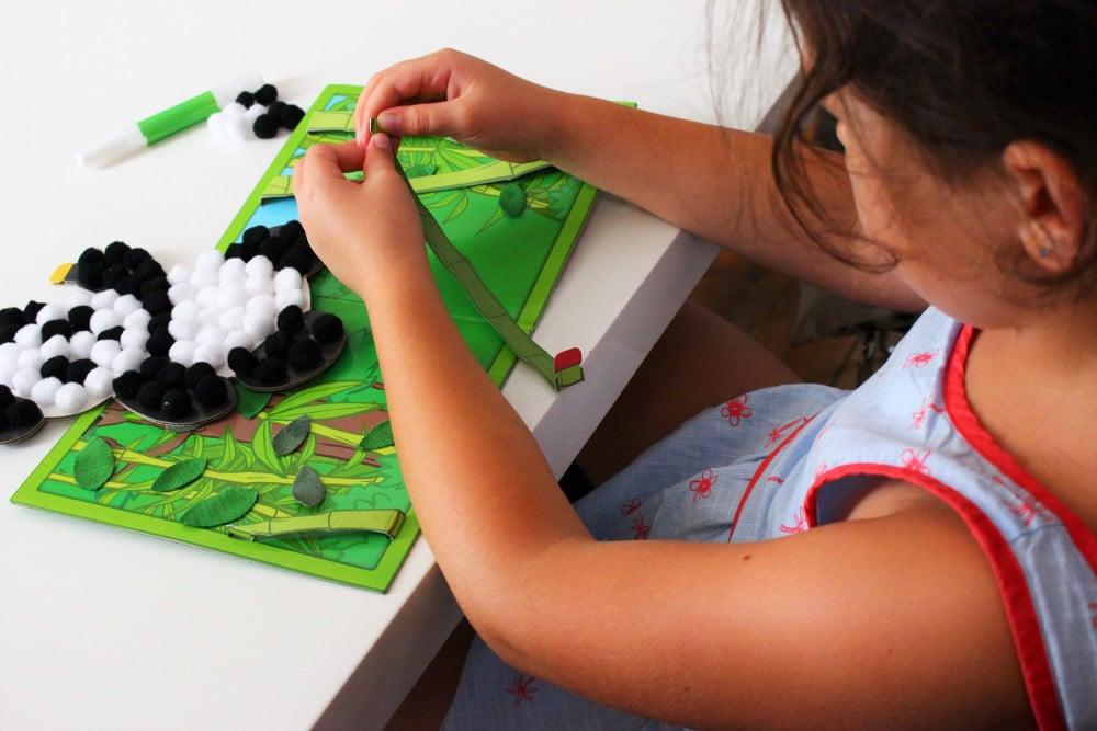 Kit de loisirs créatifs pour enfants Pandacraft