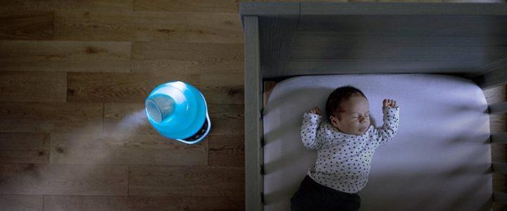 sélection humidificateur d'air pour bébé