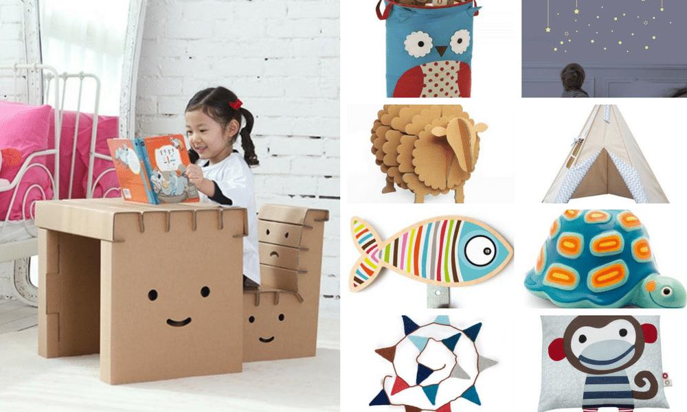 10 objets de décoration pour une chambre d'enfant