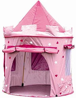 Cabane en toile pour enfant château de princesse