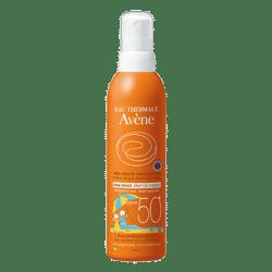 crème solaire enfant et bébé Avène Spray enfant 50+
