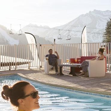 Vacances d'hiver en famille à Morzine