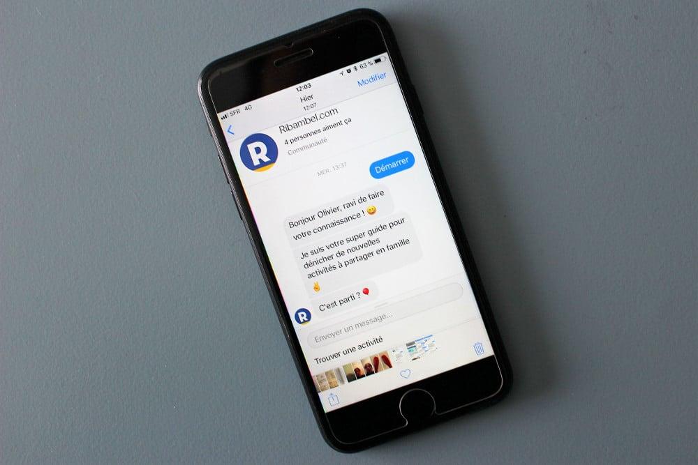 chatbot messenger Ribambel