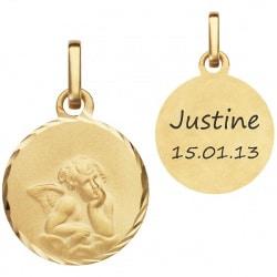 médaille de baptême personnalisée