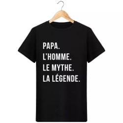 tee-shirt pour papa mythe