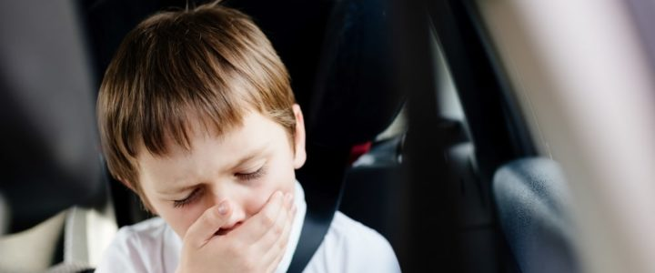 comment réduire le mal des transports des enfants