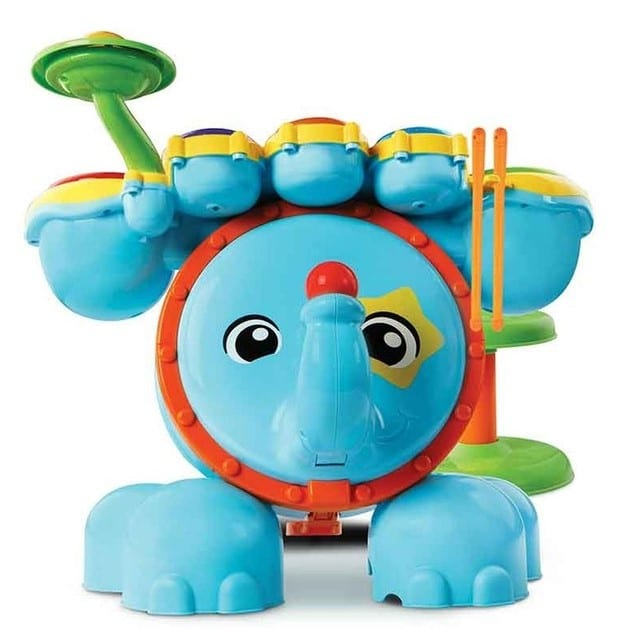 Jungle rock batterie Vtech éléphant multicolore