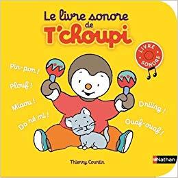 livre sonore de T'choupi
