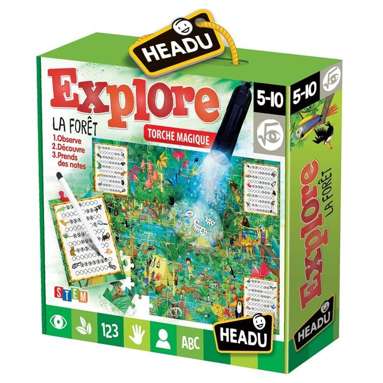 Puzzle explore la forêt Headu