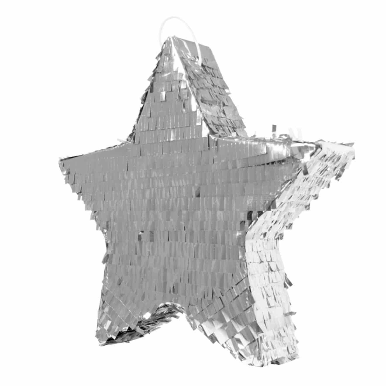 pinata-enfant-etoile-argentee