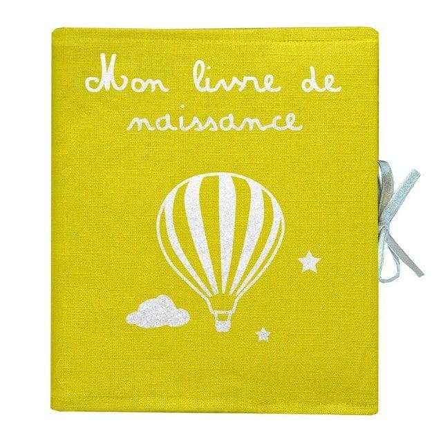 liste-de-naissance-lin-enduit-jaune-motif-mongolfiere-les-griottes