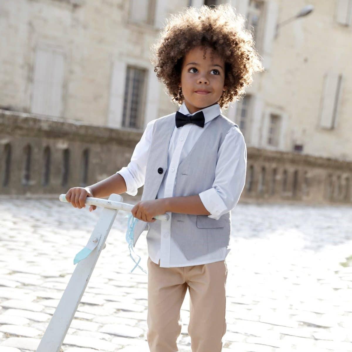 tenue-ceremonie-pour-enfant-chemise-garcon-en-popeline