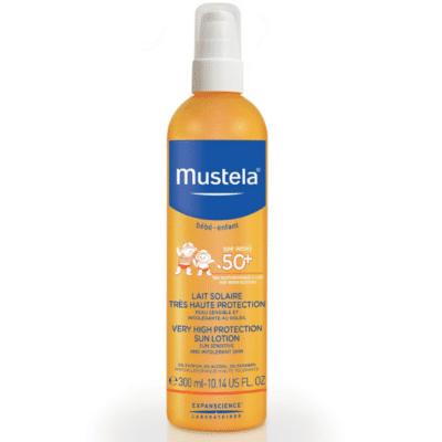 Crema Solar-Mustela-Baby-Toddler-50 +