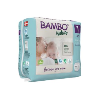 paquet de couches marche Bambo nature