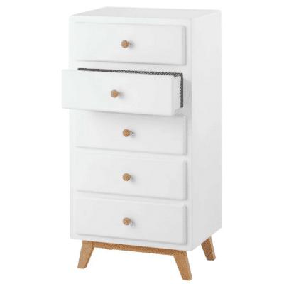 Chiffonnier-vintage-en-bois-blanc-marque-Maisons-Du-Monde