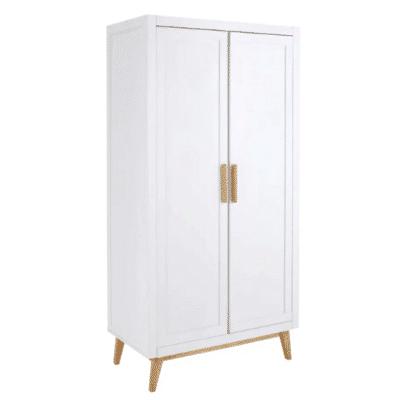 armoire en bois blanc pour enfant April marque Maisons Du Monde