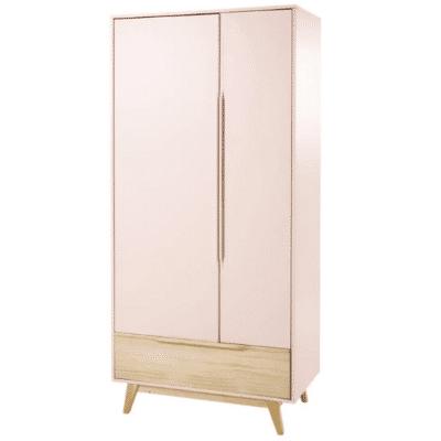 dressing en bois rose clair pour enfant Bucolique marque Maisons Du Monde