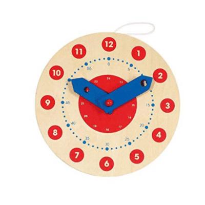 Reloj de aprendizaje Montessori