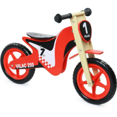Vilac bicicleta de equilibrio madera rojo motocicleta