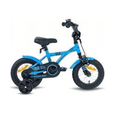 La primera bicicleta para niños Prometheus-Hawk de 12 pulgadas