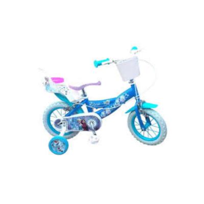 Bicicleta infantil Frozen de 12 pulgadas
