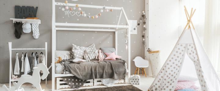 lit cabane montessori enfant