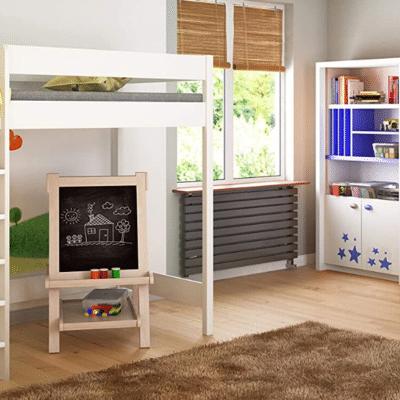 lit mezzanine pour enfant marque Children's Beds Home