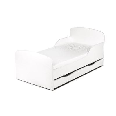lit blanc pour enfant en bois marque Leomark