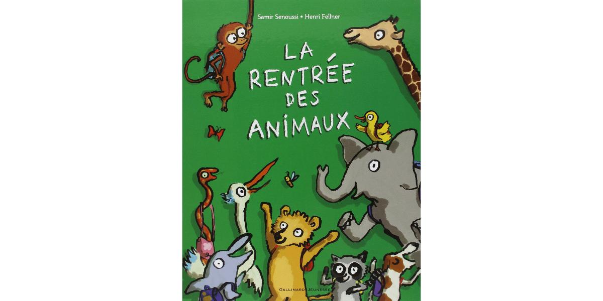 Livre Sur La Rentree Scolaire La Rentree Des Animaux