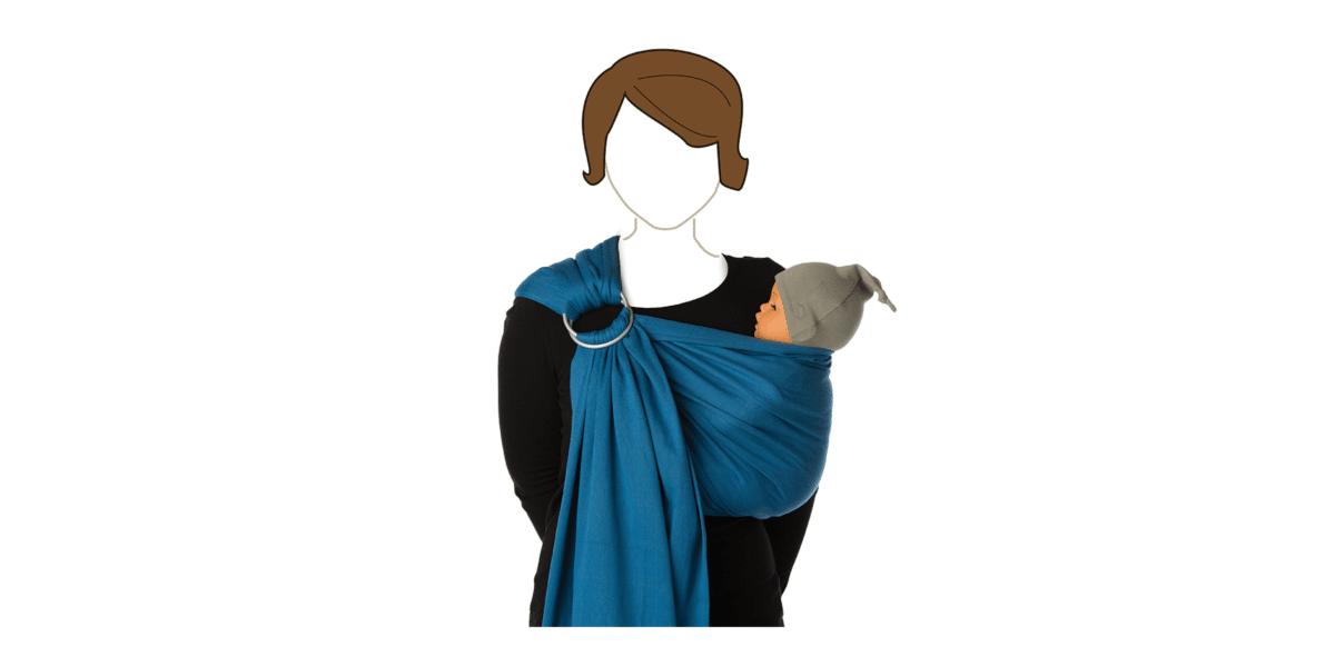 porte-bebe-sling-campanula-blue-babylonia