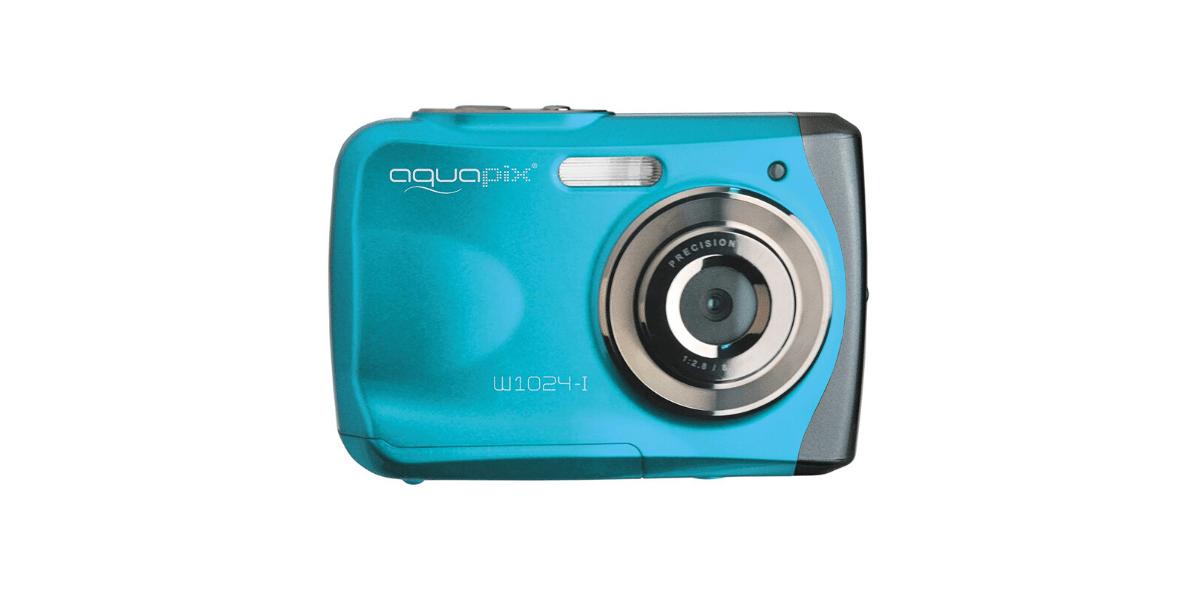 Appareil photo numérique bleu étanche pour enfant Splash marque Easypix