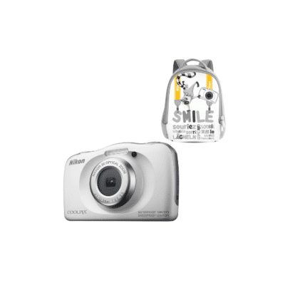 appareil photo numérique pour enfant Coolpix W100 blanc avec sac à dos marque Nikon