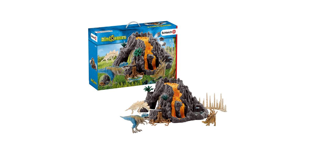 Volcan-géant-avec-Tyrannosaure-Schleich