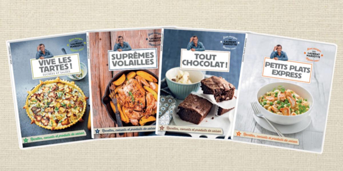 Livres de cuisine de Laurent Mariotte