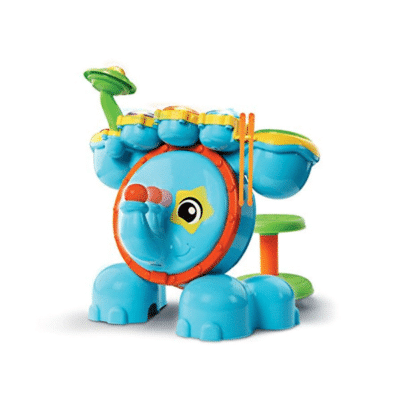Jungle-rock-batterie-Vtech-éléphant-multicolore