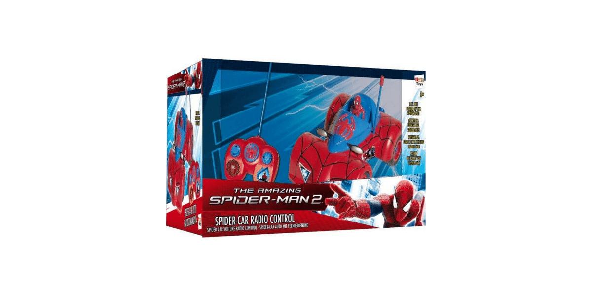 Voiture-télécommandée-Spiderman