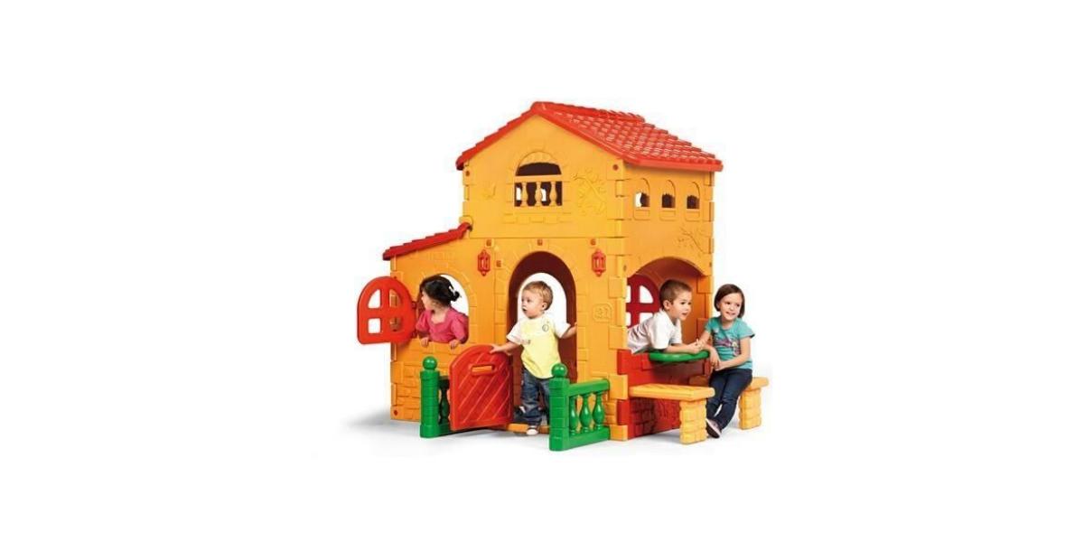 maison en plastique pour enfatn La Grande Villa marque Feber