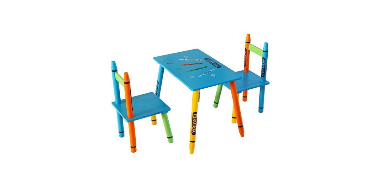 table enfant crayon marque Kiddi style