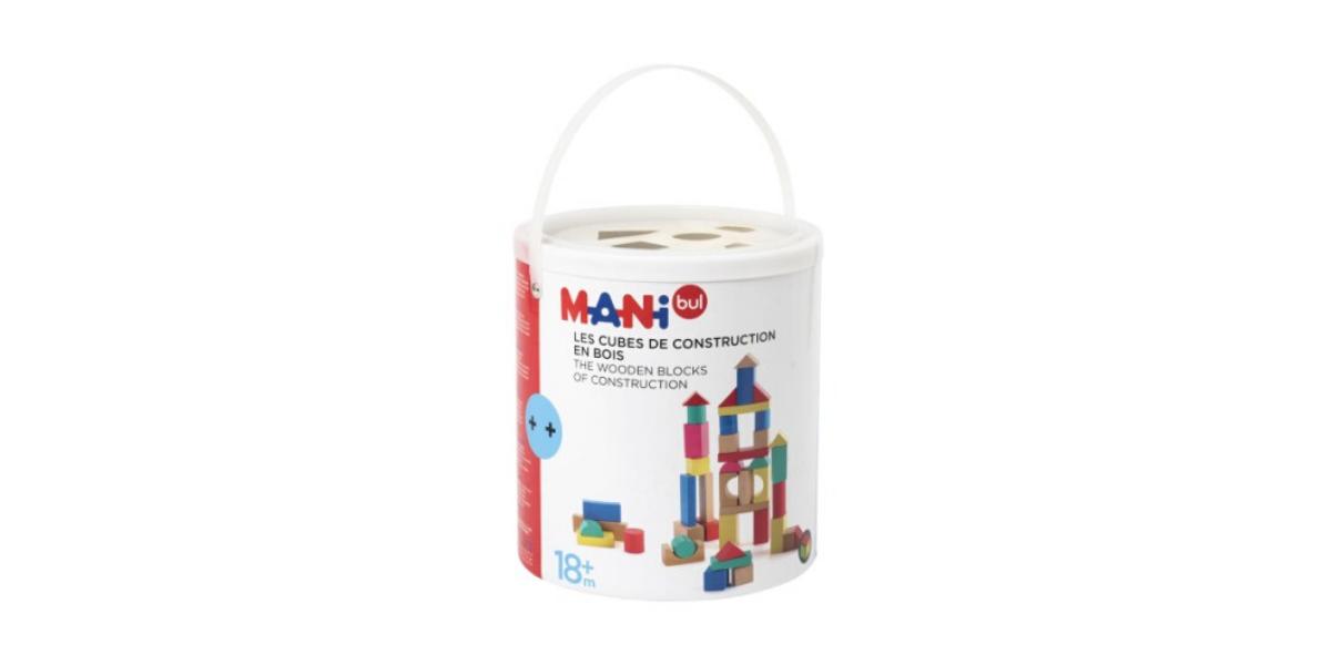 baril de blocs de construction marque Manibul