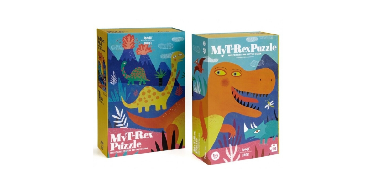 Mon-puzzle-T-Rex-Londji