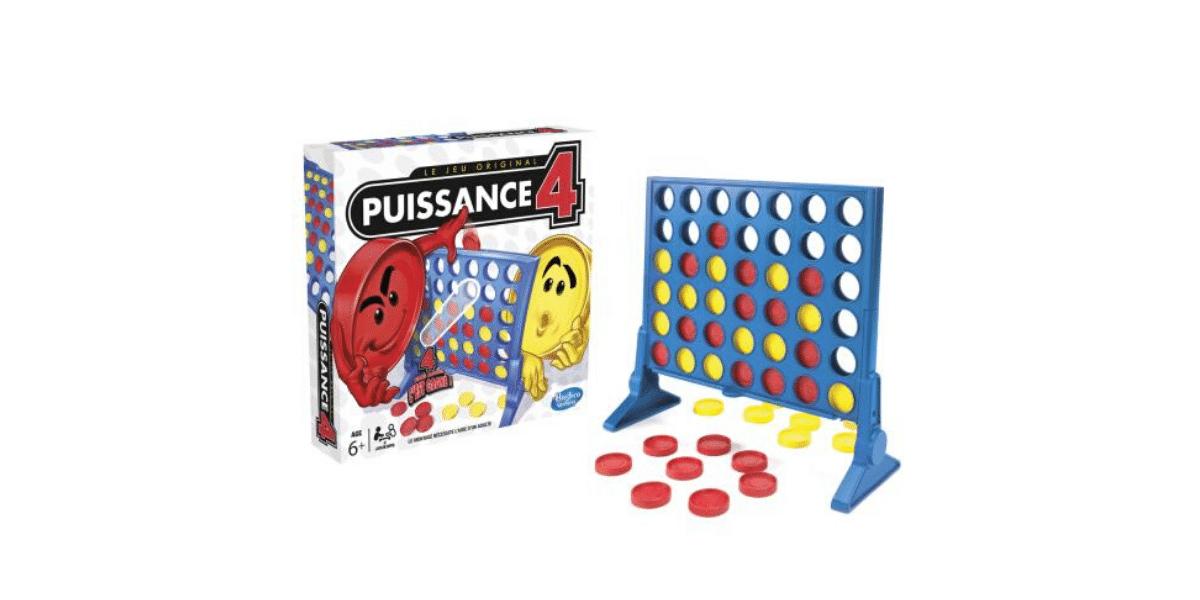 Jeux de société pour enfant Puissance 4