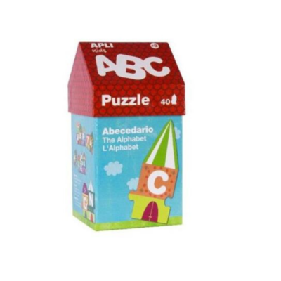 Puzzle-40-pieces-Maisonnette-ABC-Apli-Kids