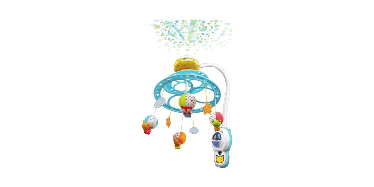 mobile bébé projection étoiles lumi marque Vtech